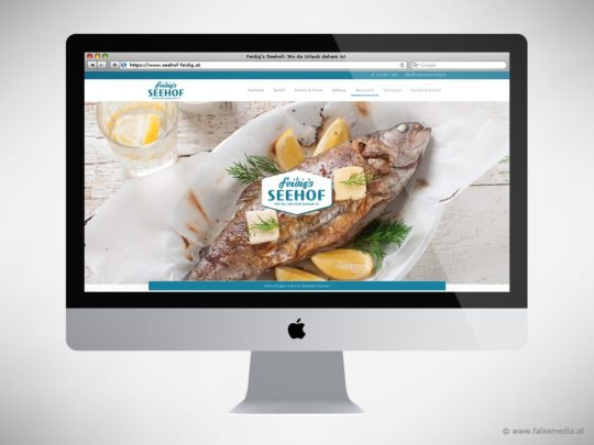 Website Feidig's Seehof: Restaurant