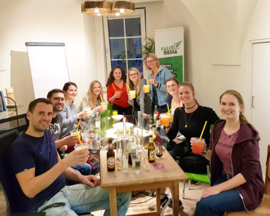 Cocktail-Time im Falkenhorst
